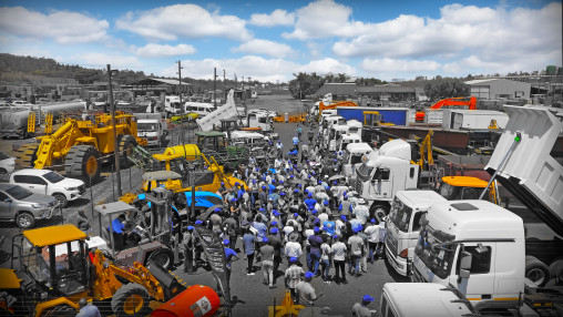 construction auctions, earthmoving auctions, commercial vehicle auctions gauteng, truck auctions gauteng, mining auctions south Africa
