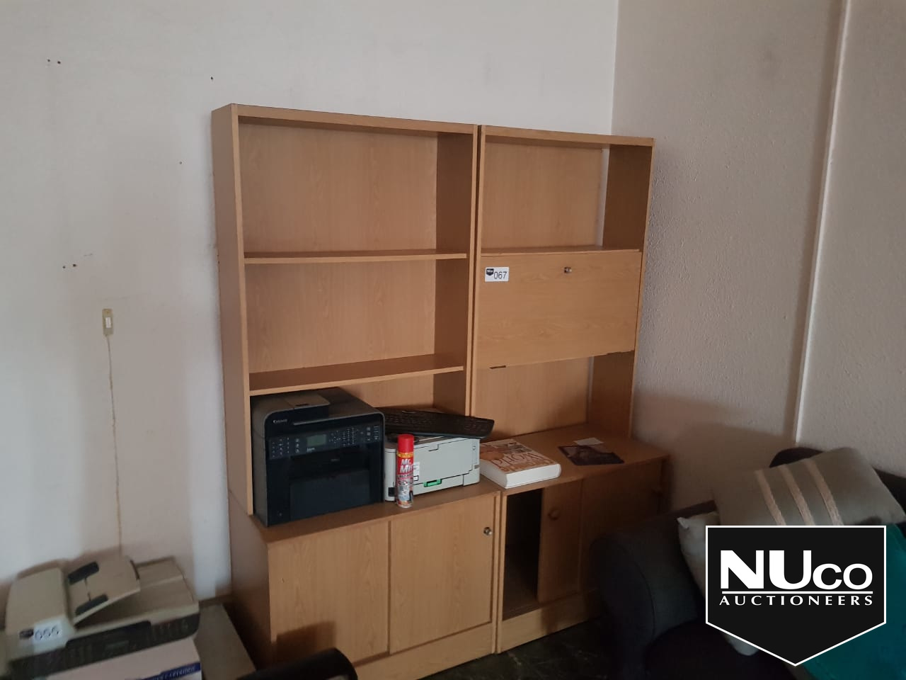 SHELVING CABINET | Nuco Auctioneers